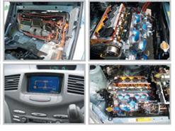 Bộ thiết bị đào tạo chẩn đoán tổng thành xe ô tô - Hyundai I10 - 2015 (số tự động)