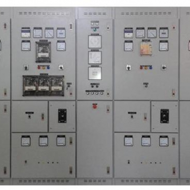 GENERATOR SETS AND SYNCHRONISING BOARD